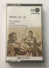 "Quintet Of The Hot Club Of France ""Swing '35-'39"" Tape Cassette *KECC 2051* 1970"