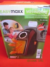 EASYmaxx 500 W elektrische Mini-Heizung - Schwarz/Rot