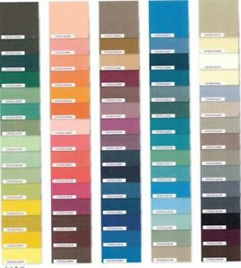 "New- Set Charm Pack Modern Solid Uni Baumwolle Quilt Schmidt 75x 25,5x25,4cm 10"""