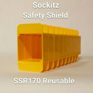 Sockitz Safetyshield Reusable (not yoozybox) SSR170 1Gang 30mm x 10no