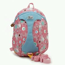 children backpack travel bag with Walking Strap girls backpack childcare outdoor