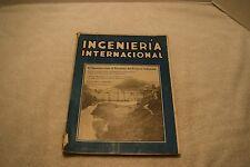 Vintage Ingenieria Internacional, McGraw Hill, April 1919, Great Industrial Illu