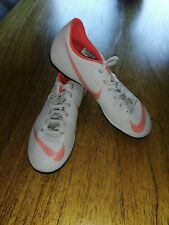 Nike Mercurial FOOTBALL BOOTS Size 5.5 UK GREY Orange