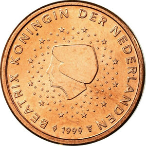 [#755573] Pays-Bas, 2 Euro Cent, 1999, SPL, Copper Plated Steel, KM:235