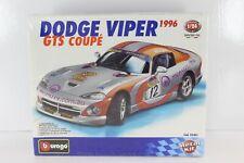 BURAGO DIE-CAST METAL KIT 1/24 DODGE VIPER GTS COUPÈ 1996 COD.55301 BURAGO