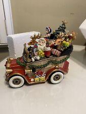 Fitz and Floyd Santa Mobile Music Box