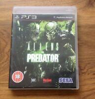 Aliens vs. Predator (Sony PlayStation 3, 2010) PS3 Game UK PAL. Free UK Postage