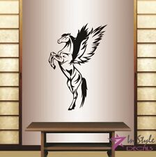 Vinyl Decal Pegasus Horse with Wings Mustang Any Room Wall Sticker Decor 1941