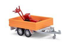 Busch H0,44932 Cargador alta plataforma mit Cortacésped »Strassenm