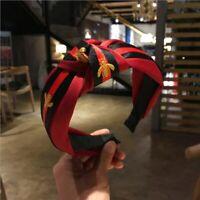 Hairband Headband Turban Striped Hair Band Bee Hair Hoop Woman Hair Accessories