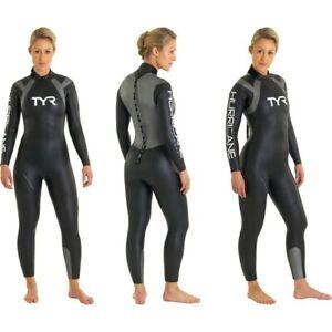 TYR Hurricane Women's Triathlon / Open Water Swimming Wetsuit Medium RRP $285
