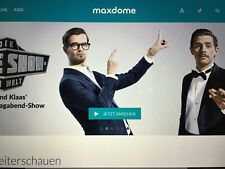 6 Monate Maxdome - Gutschein