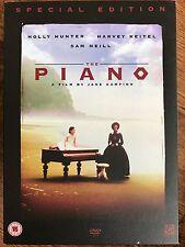 Holly Hunter the Piano ~ 1993 Oscar Ganador ~ Disco 2 Especial Edición GB DVD