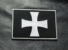 CROSS CRUSADER SHIELD INFIDEL CHRISTIAN HOOK MORALE PATCH