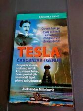 TESLA WIZARD AND GENIUS ~ by Aleksandar Milinkovic ~ 500 books printed only