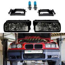 BMW E36 Limousine Coupe Cabrio Compact Nebelscheinwerfer Smoke Rauchglas Paar