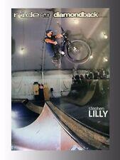 "Diamondback BMX Bicycle, Stephen Lilly, Poster 14"" x 20.5"", printed 2 sides"
