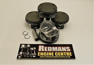 4x pistons A18XER fits Vauxhall Vectra Astra INSIGNIA 1.8 16v