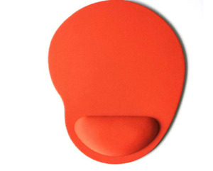 New Small Feet Shape Mouse Pad Support Wrist Comfort Mat Soild Color Computer