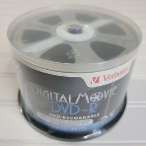 Verbatim ~ Digital Movie DVD-R ~ 25 Pack ~ 4.7 GB/120 Min/4x ~ FREE SHIPPING