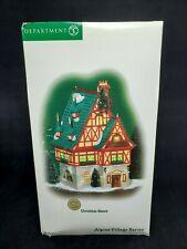 Department 56 Alpine Village Series Christmas House Miob