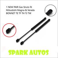 Qty(2) NEW Gas Struts fit Mitsubishi Magna & Verada BONNET TE TF TH TJ TW Models