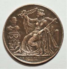 BELGIQUE LEOPOLD Ier JETON 25 ANNIVERSAIRE DE L'INAUGURATION DU ROI 1856,BRUXELL