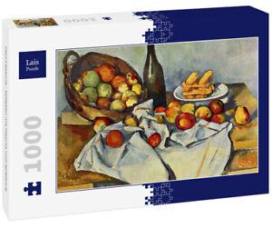 Lais Puzzle - Paul Cézanne - Stilleben mit Flasche und Apfelkorb - 1.000 Teile