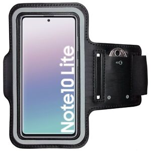 Samsung Galaxy Note10 Lite Sportarmband Handy Hülle Sport Armband Fitness Tasche