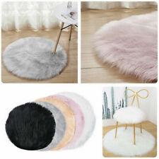 Soft Fluffy Faux Fur Sheepskin Rug Floor Carpet Area Rugs Home Bedroom Hairy Mat