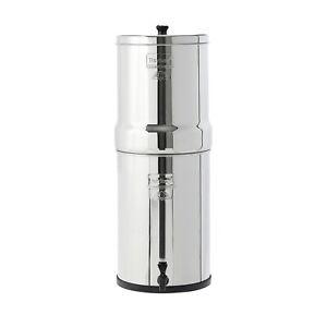 Crown Berkey Water Filter System XXL Stainless Steel Gravity Water Filter (23L)