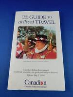 MAY 1993 CANADIAN AIRLINES INTERNATIONAL WORLDWIDE TIMETABLE GUIDE DIRECTORY