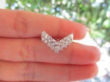 1.00 Carat Diamond Half Eternity Ring pt900 codeHE53 sepvergara