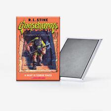 Goosebumps A Night in Terror Tower Refrigerator Magnet 2x3 RL Stine