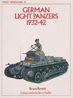 GERMAN LIGHT PANZERS 1932-42 (VANGUARD) (German Armor WWII)