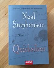 Neal Stephenson Barock-Trilogie Band 1 QUICKSILVER TB Historischer Roman
