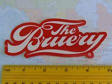 BEER STICKER ~*~ The BRUERY ~*~ Award Winning Orange County, CALIFORNIA Brewery