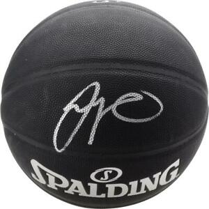JAYSON TATUM Autographed Boston Celtics Black Spalding Basketball FANATICS