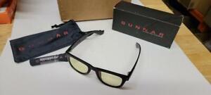 GUNNAR Gaming and Computer Eyewear /Axial, Amber Tint - Patented Lens, Reduce