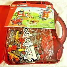 LEGO 10685 Juniors Fire Suitcase Helicopter and Motorcycle Set