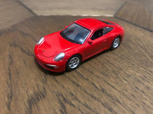 Welly Nex Porsche 911 (991) Carrera S Red Diecast Scale Model