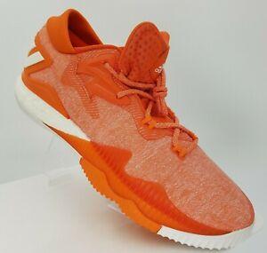 Adidas Boost Low 2016 NBA Shoes Orange Basketball Sneakers US 15 NWOB
