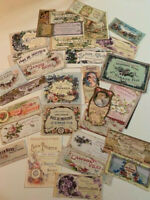 Vintage Style Horse//Horses CARDS//DIE CUTS//Gift Tags 48 Piece-12 Styles=Journals