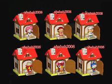 Yujin Animal Crossing Wild World House keychain figure gashapon (full set 6 Pcs)