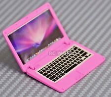 RC 1/10 Scale ACCESSORIES  METAL APPLE LAPTOP MAC BOOK Pink