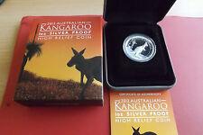 * Australien  Kankaroo * High Relief * 1 Dollar 2012 Silber PP(1 Oz) * OVP