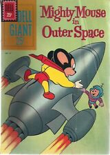 MIGHTY MOUSE IN OUTER SPACE #43 (1961) Dell Giant Comic VG+