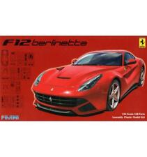 Ferrari F12 Berlinetta Deluxe 1:24 Plastic Model Kit FUJIMI