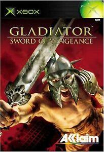 Gladiator Sword of Vengeance XBOX Retro Video Game Original UK Release Mint Cond