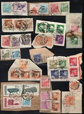 China Early 1950's Stamps on Pieces